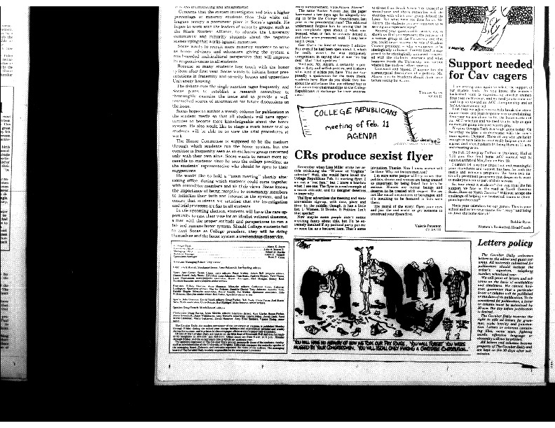 1987-02-11 - CRs Produce Sexist Flyer.pdf