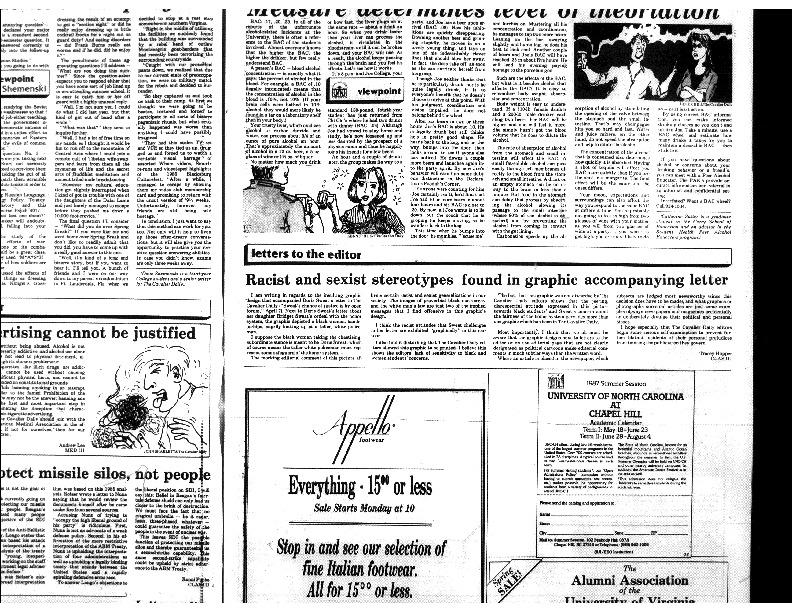 1987-04-13 - Racist and Sexist Stereotypes Found in Graphic Accompanying Letter.pdf