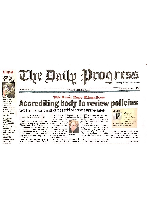 2014-12-02 DP Accrediting body to review policies.pdf