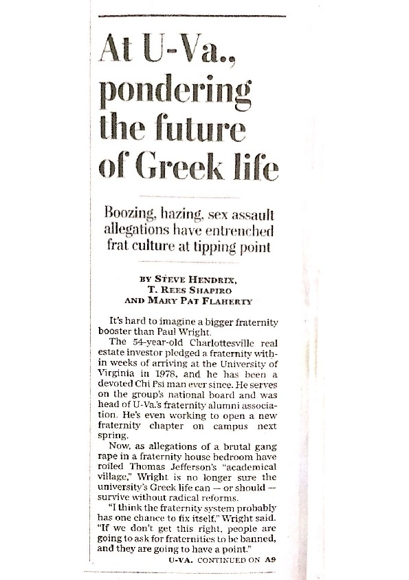 2014-11-30 WP At UVa, pondering the future of Greek life.pdf