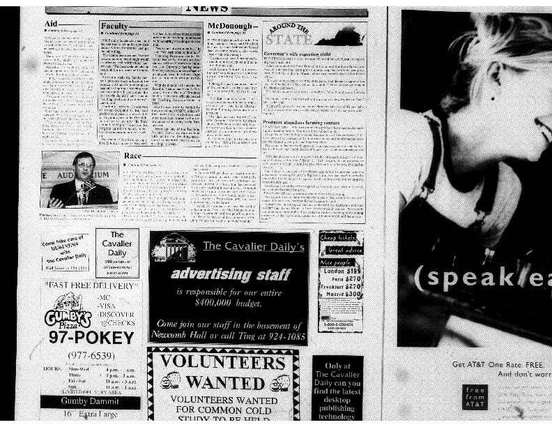 1997-09-09 Cavalier Daily Hager Opens Racial Issue, Sparks Debate Among Other Candidates (part 2).pdf