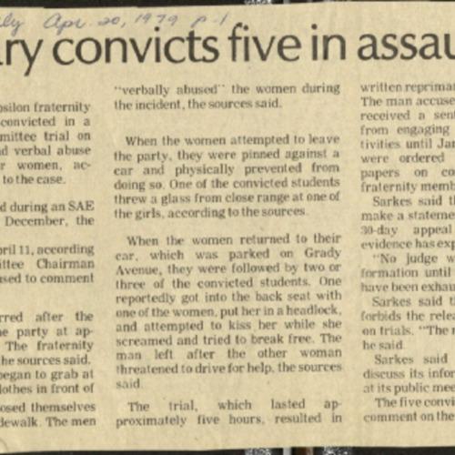 Judiciary convicts five in assault- Banta.pdf
