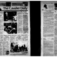 Cavalier Daily Apr 23, 1993 - Police Make Progress on Rape Cases; Faculty Body Passes Sex Ban.pdf