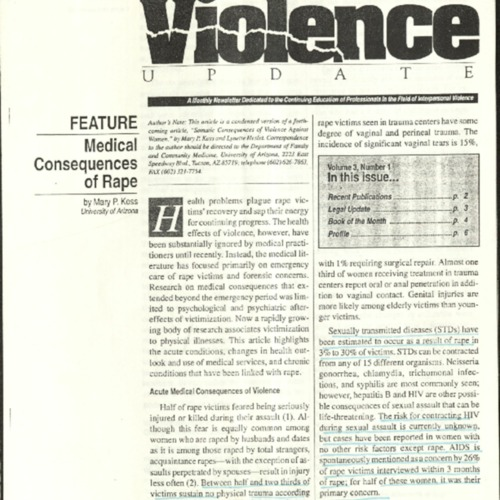 Violence Update- The Medical Consequences of Rape- Koss.pdf
