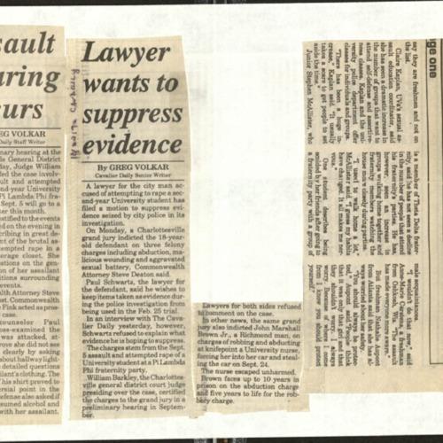 Assault hearing occurs-Volkar, Lawyer wants to suppress evidence-Volkar.pdf