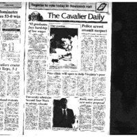 Cav Daily Sept 15, 1992 - Police Arrest Assault Suspect.pdf