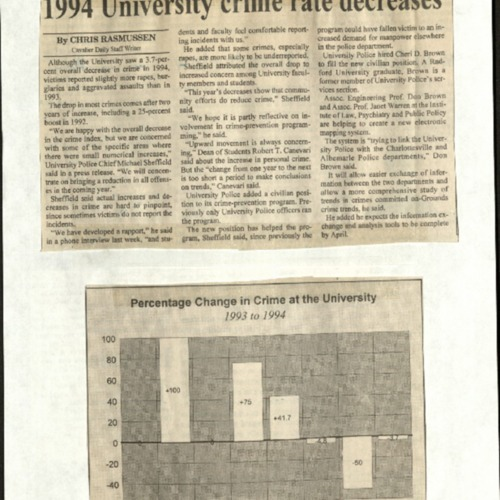 1994 University crime rate decreases-Rasmussen.pdf