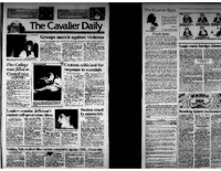 Cavalier Daily Apr 15, 1993 - Groups March Against Violence; Casteen Criticized for Response to Scandals..pdf