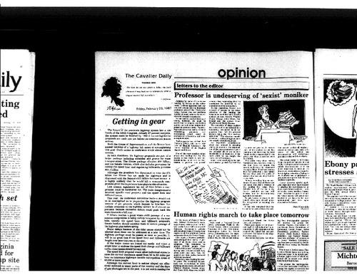 1987-02-20 - Professor is Undeserving of 'Sexist' Moniker.pdf