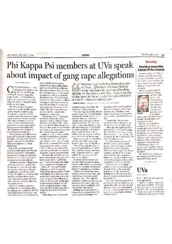 2015-01-15 DP - Phi Kappa Psi members at UVa speak about impact of gang rape allegations.pdf