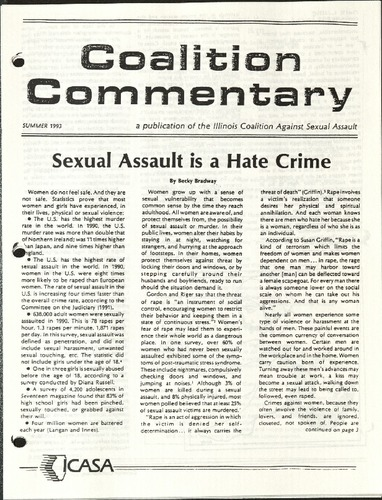 Coalition Commentary- Sexual Assault is a Hate Crime- Bradway- Summer 1993.pdf