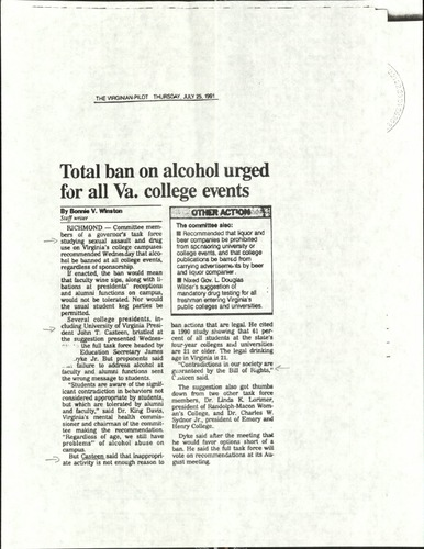 Total ban on alcohol urged for all Va. college events- Winston.pdf