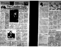Cavalier Daily Oct 9, 1992 - Board Discusses Long-Term Plan.pdf