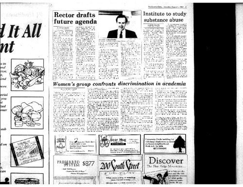 1987-08-01 - Women's Group Confronts Discrimination in Academia.pdf