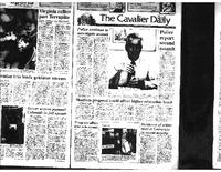 Cav Daily Sept 8, 1992 - Police Continue to Investigate, Police Report Second Assault.pdf
