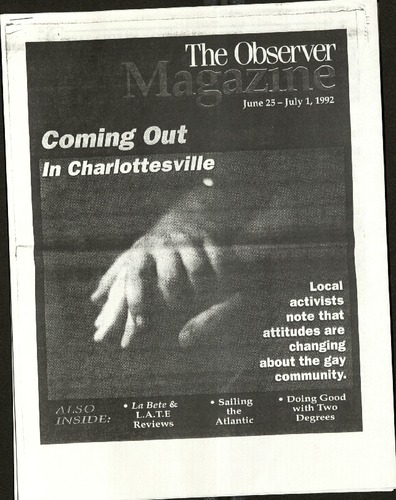 Coming Out in Charlottesville- The Observer.pdf
