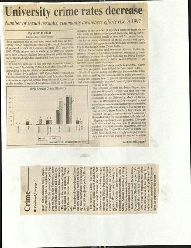 University crime rates decrease-Hurd.pdf