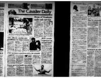 Cavalier Daily Apr 8, 1993 - UNC Institutes Expulsion Policy for Assaults; BOV Awaits Responses to Sexual Issue.pdf
