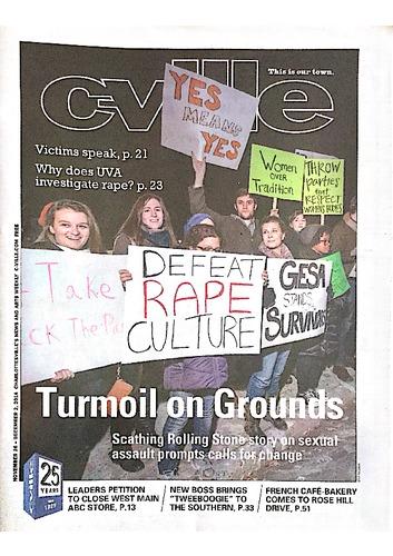 2014-11-26 Cville Weekly - Inside the story - UVA activists speak.pdf