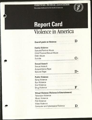 Report Card Violence in America- American Medical Association.pdf