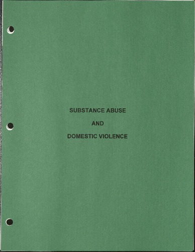 Substance Abuse and Domestic Violence-Prevention Works! Vol. 3, No. 6.pdf