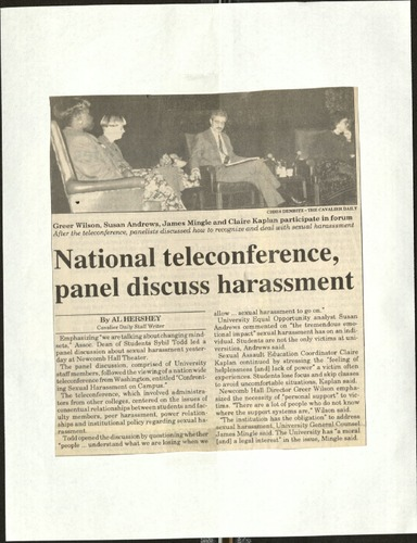 National teleconference panel discuss harassment-Hershey.pdf
