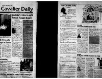 1998-02-02 Cavalier Daily Judiciary Votes to Split Sexual Assault Board.pdf