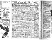 Cavalier Daily May 29, 1954 - Students Not Enthusiastic About Self-Discipline.pdf