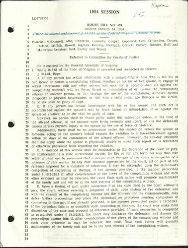 1994 Session- House Bill No. 428- Virginia Law .pdf