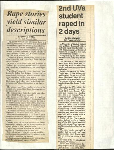 Rape stories yield similar descriptions-Wall, 2nd UVA student raped in 2 days-Bowman.pdf