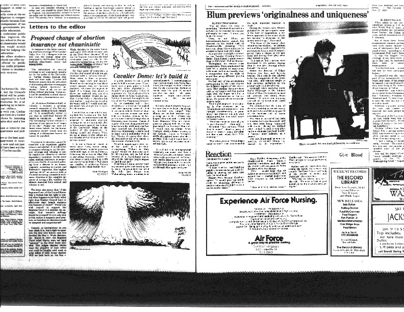 1983-11-22 Cavalier Daily Proposed Change of Abortion Insurance not Chauvinistic.pdf