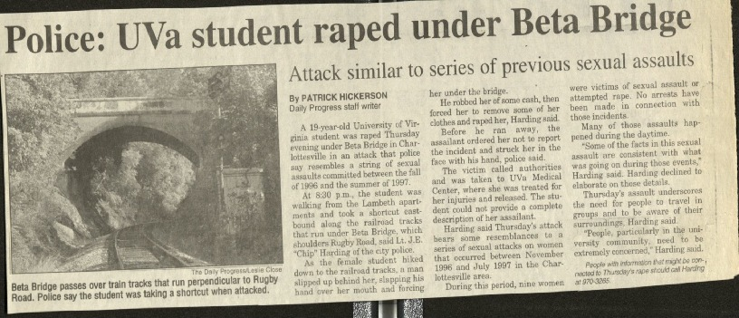 Police-UVA student raped under Beta Bridge-Hickerson.pdf