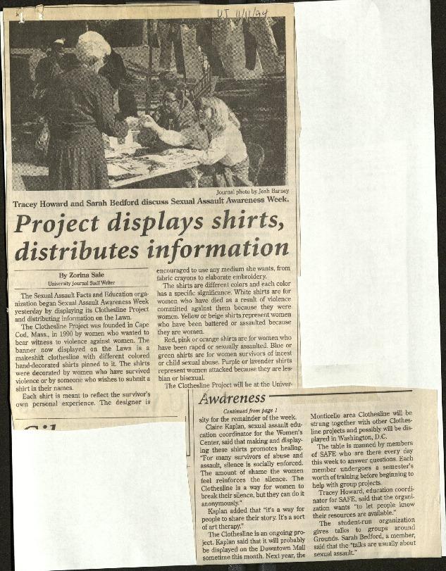 Project displays shirts, distributes information- Sale.pdf