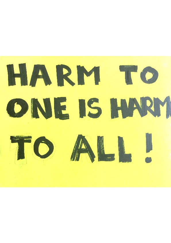 Poster - Harm to One - 20x40inch approx.pdf