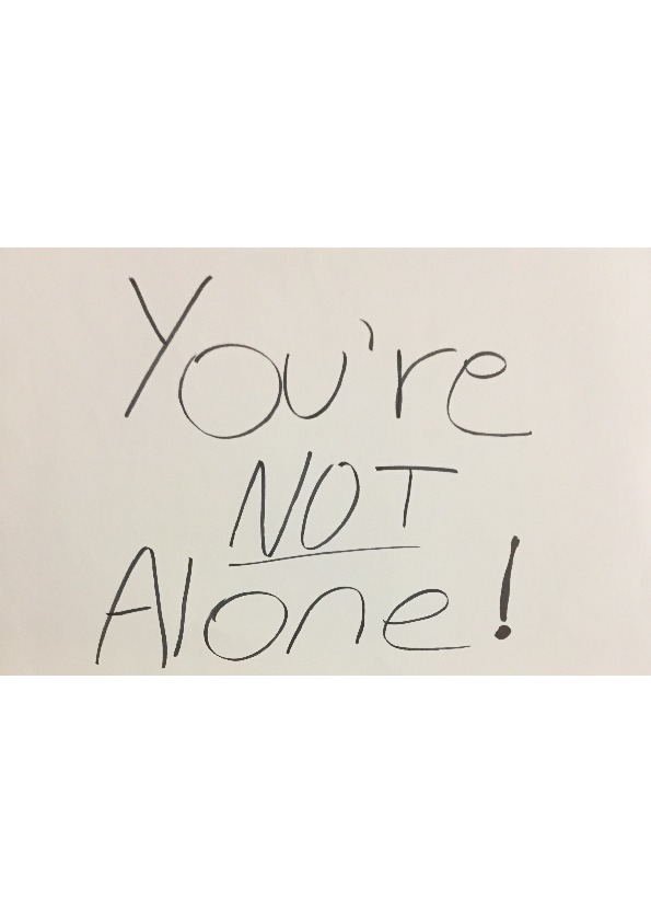 Poster - You're Not Alone - 24x36inch approx - posterboard.pdf