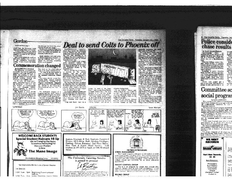 1984-1-2 Cavalier Daily Gordon Calls for Inquiry part 2.pdf