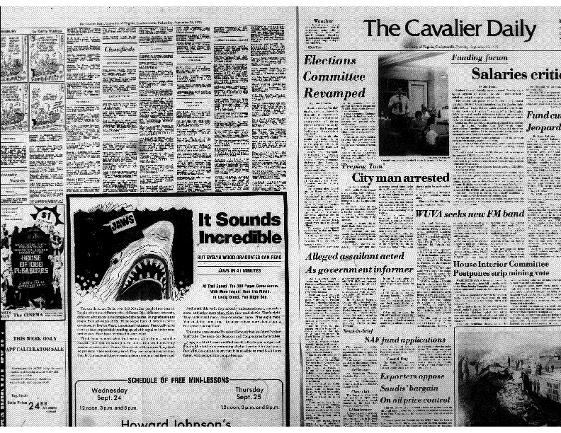 Cavalier Daily Sept 25, 1975 - City Man Arrested.pdf