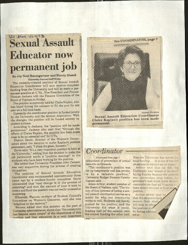 Sexual Assault Educator now permanent job-Baumgartner &Bissell.pdf