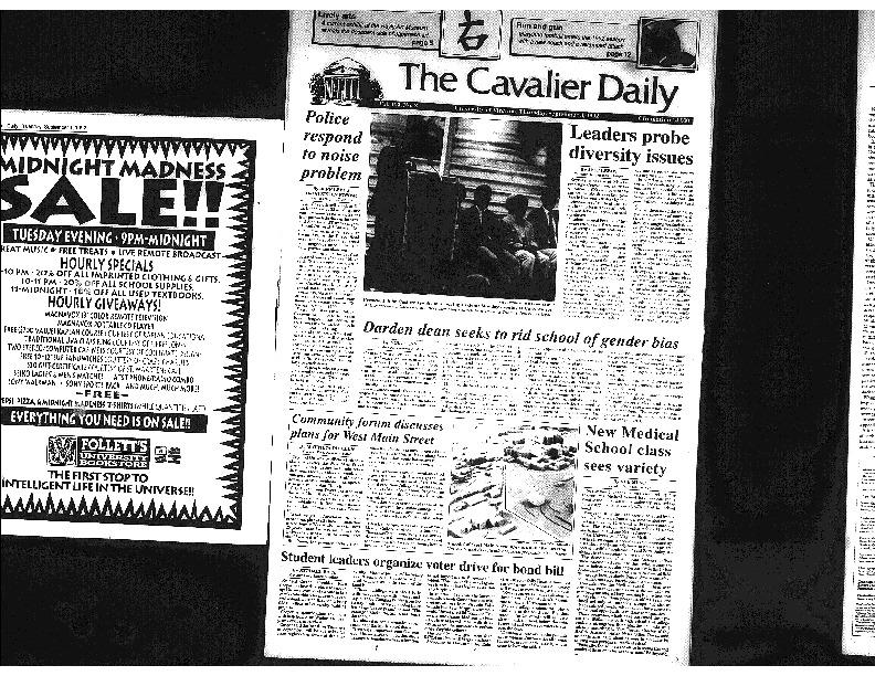Cav Daily Sept 3, 1992 - Darden Seeks to Rid School of Gender Bias.pdf