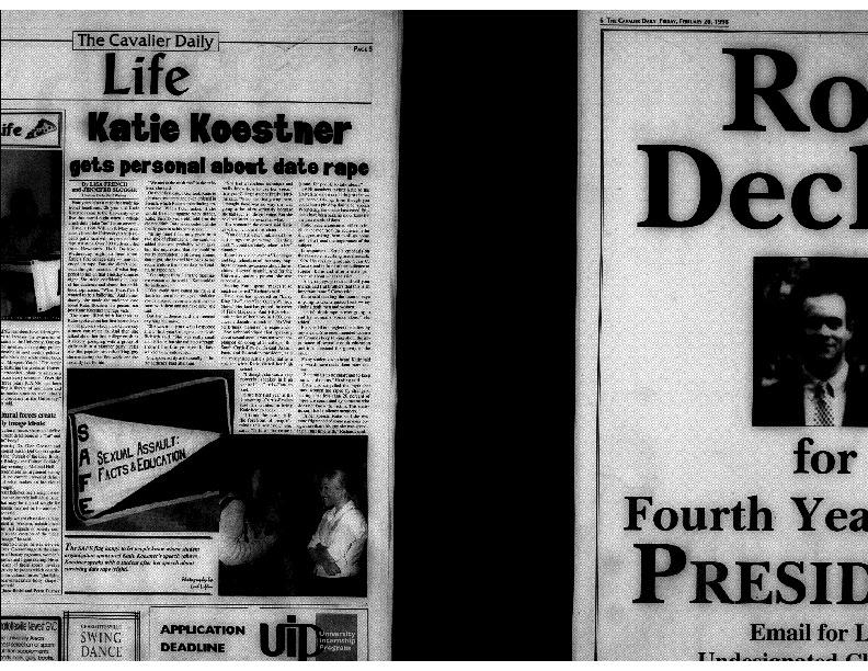 1998-02-20 Cavalier Daily Katie Koestner Gets Personal About Date Rape.pdf