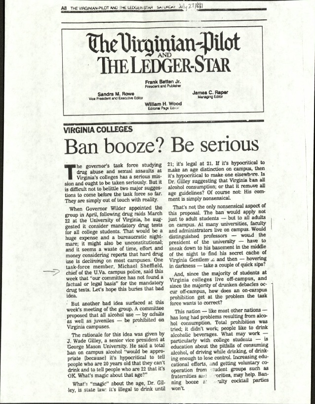 Ban booze? Be serious- The Virginian Pilot and the Ledger Star.pdf