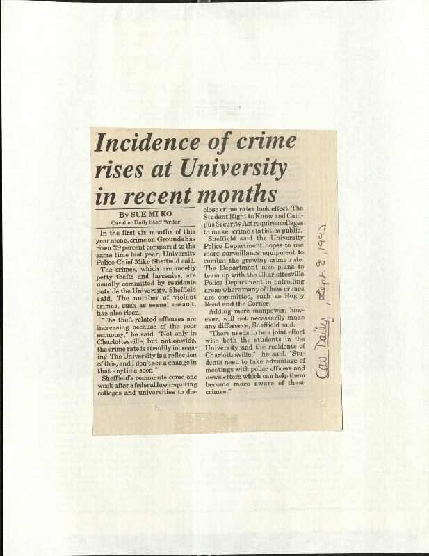 Incidence of crime rises at University in recent months-Ko.pdf