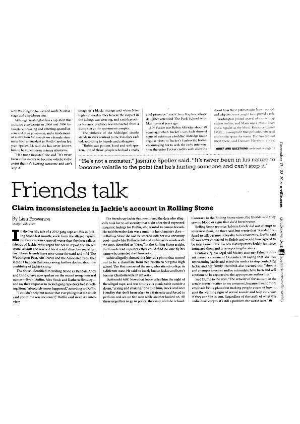 2014-12-17 Cville Weekly - Friends talk.pdf