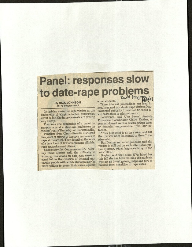 Panel responses slow to date-rape problems-Johnson.pdf