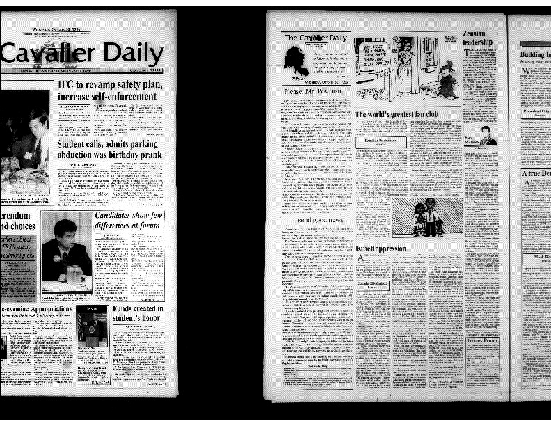 1996-10-30 Cavalier Daily Student Calls, Admits Parking Abduction was Birthday Prank.pdf