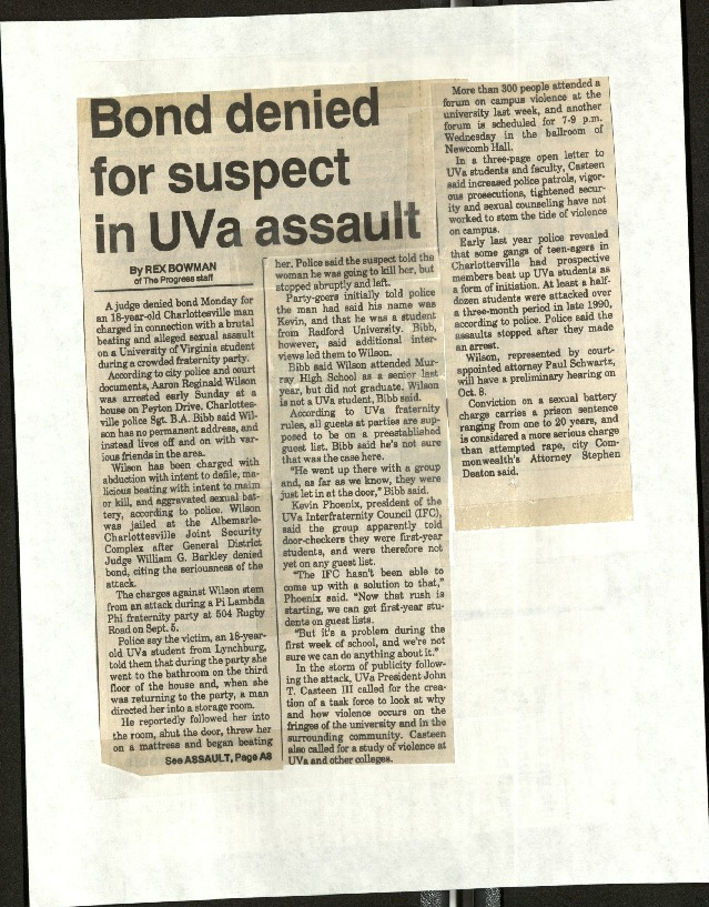 Bond denied for suspect in UVA assault-Bowman.pdf