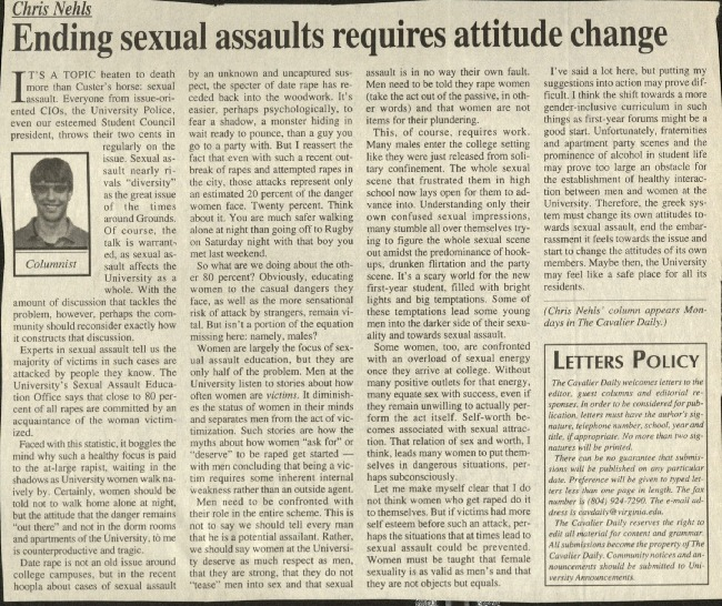 Ending sexual assaults requires attitude change-Nehls.pdf