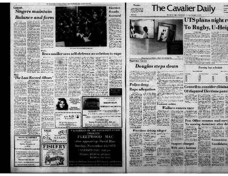 Cavalier Daily Nov 13, 1975 - Police Drop Rape Allegation.pdf