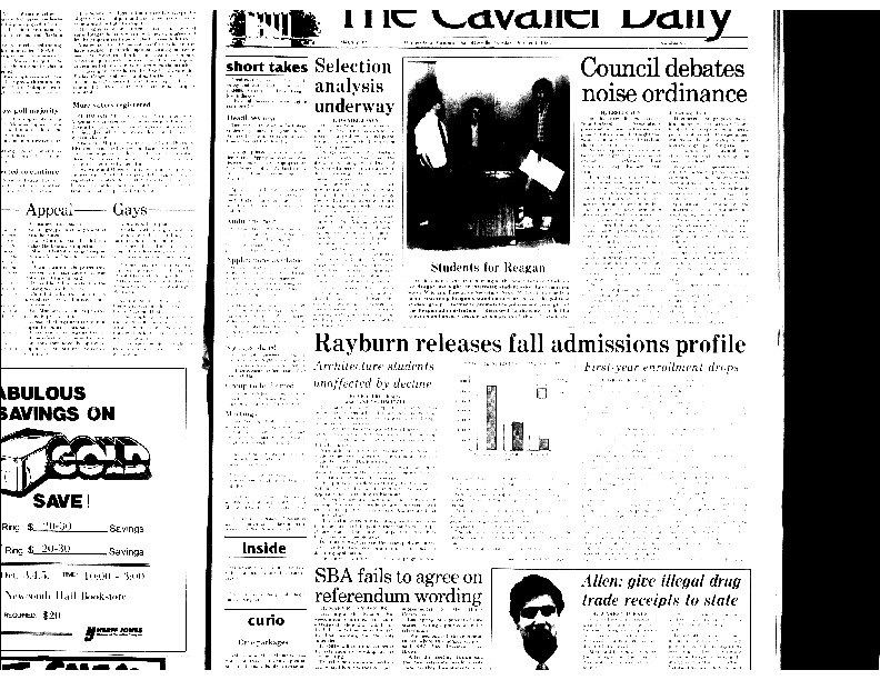 1983-10-03 Cavalier Daily Gay Students More Susceptible to Stress, Medical Officials Say (part 2).pdf