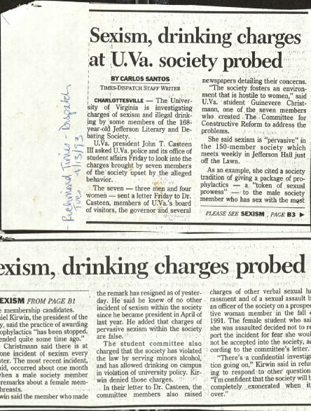 Sexism, drinking charges at UVA society probed- Santos.pdf